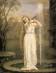 Undine by John William Waterhouse (from Wikipedia)