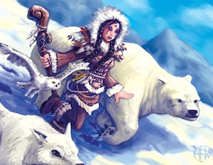 Arctic Druid by Gary Gill (via Deviant Art)