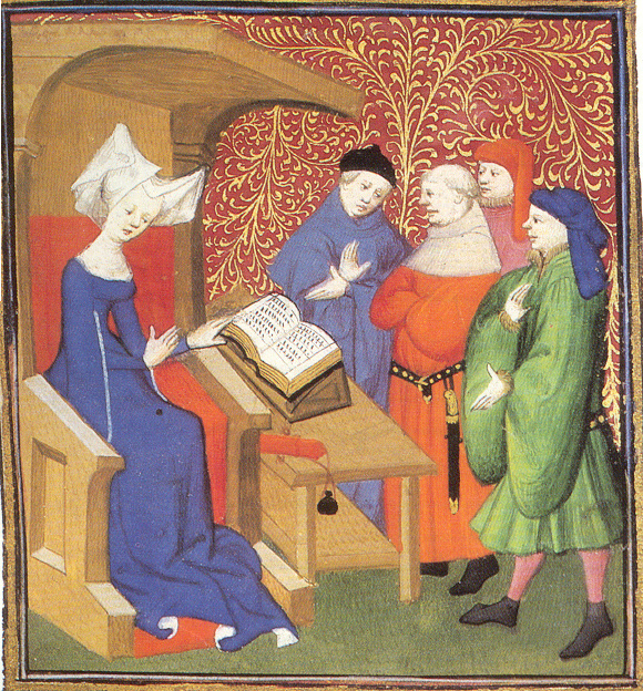 Christine de Pizan: from Wikipedia