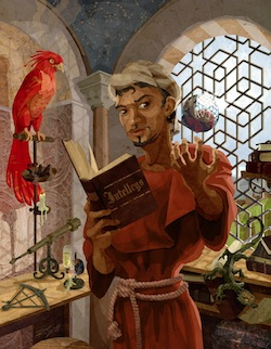 Andalusian Magus from the Ars Magica supplement Realms of Power: Magic from Atlas Games by Robert Scott