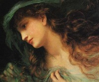 The Head of a Nymph by Sophie Anderson (from Wikipedia)