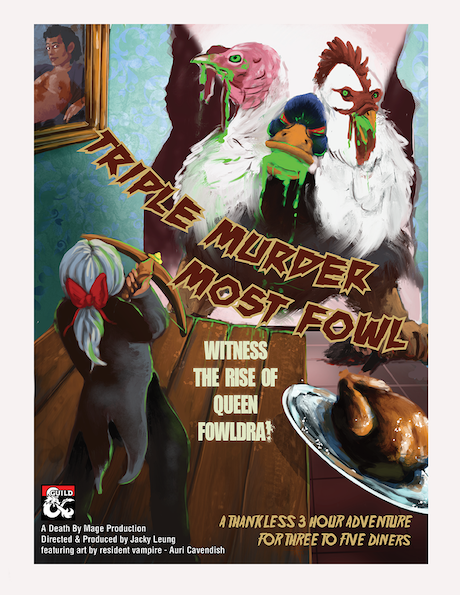 Cover of Triple Murder Most Fowl