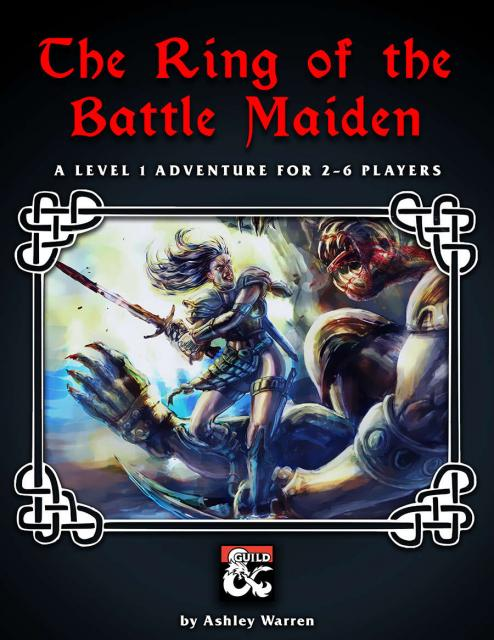 The Ring of the Battle Maiden Cover