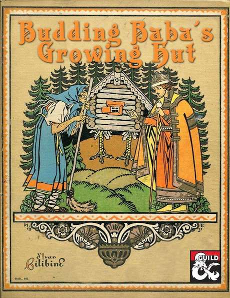 Cover of Budding Baba's Growing Hut