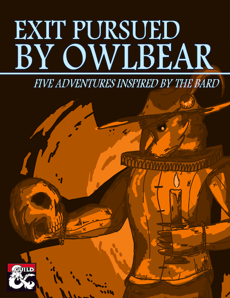 Cover of Exit Pursued by Owlbear