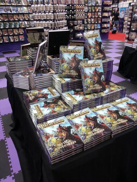 Mythic Adventures at GenCon