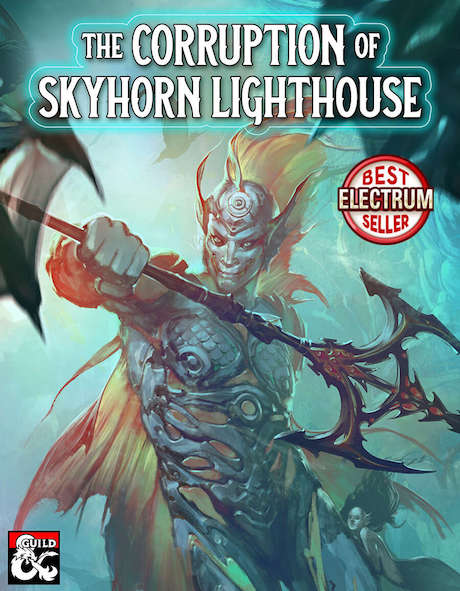 Cover of The Corruption of Skyhorn Lighthouse